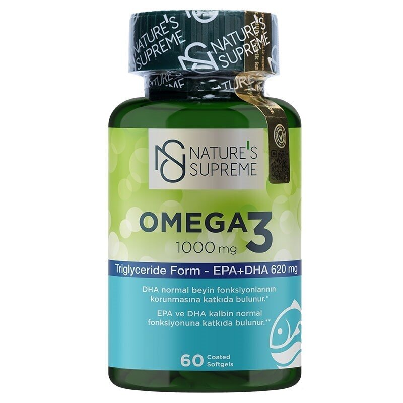 Nature's Supreme Omega 3 1000 Mg